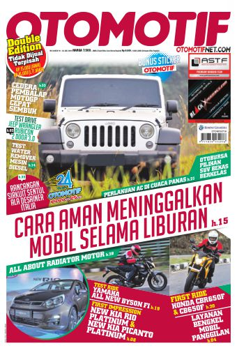 Tabloid OTOMOTIF - edisi 10/XXV