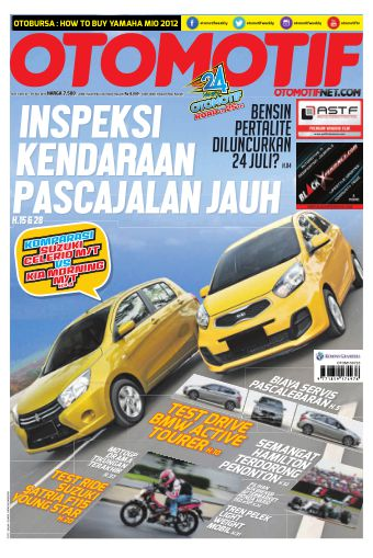 Tabloid OTOMOTIF - edisi 11/XXV