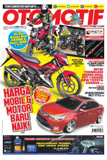 Tabloid OTOMOTIF - edisi 13/XXV