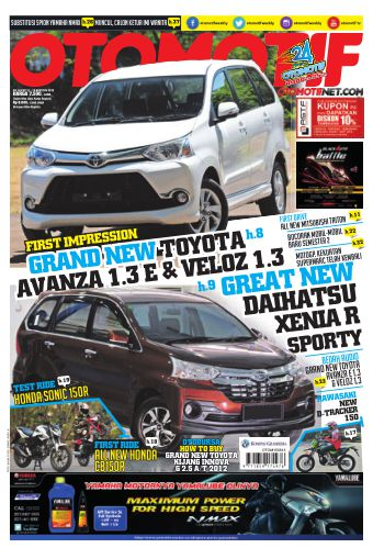 Tabloid OTOMOTIF - edisi 14/XXV