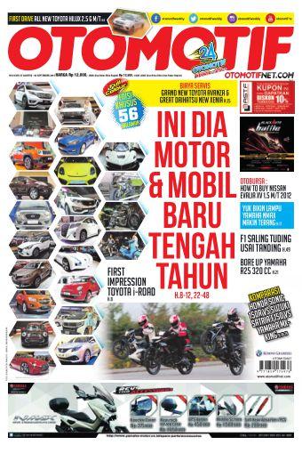 Tabloid OTOMOTIF - edisi 16/XXV