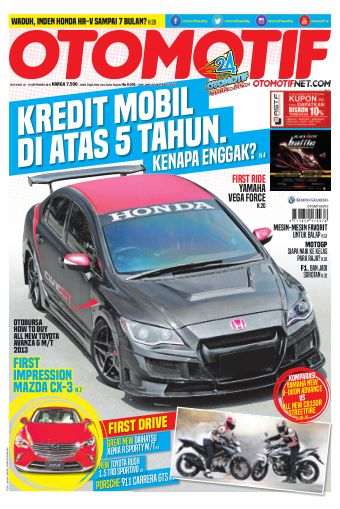 Tabloid OTOMOTIF - edisi 18/XXV
