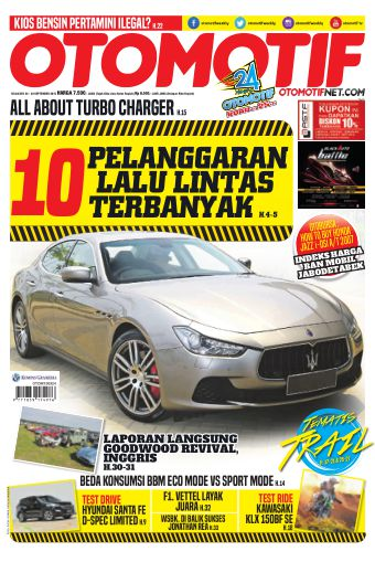 Tabloid OTOMOTIF - edisi 20/XXV