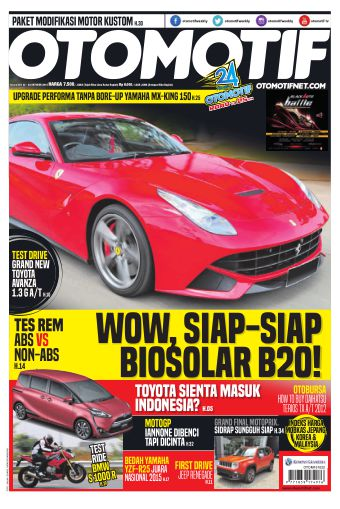 Tabloid OTOMOTIF - edisi 24/XXV