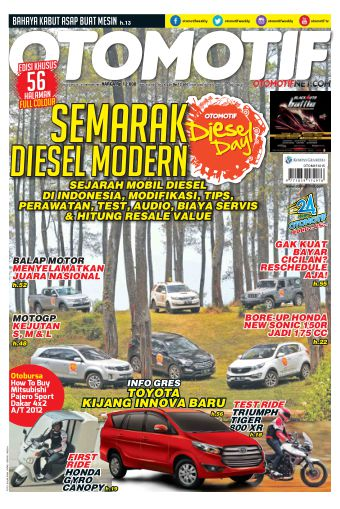 Tabloid OTOMOTIF - edisi 23/XXV