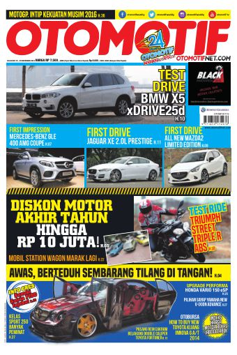 Tabloid OTOMOTIF - edisi 28/XXV