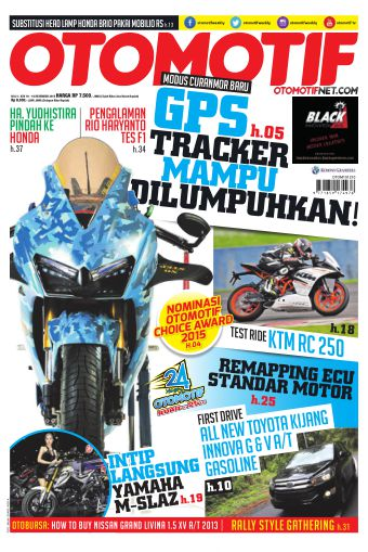 Tabloid OTOMOTIF - edisi 31/XXV