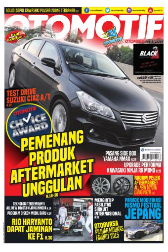 Tabloid OTOMOTIF - edisi 32/XXV