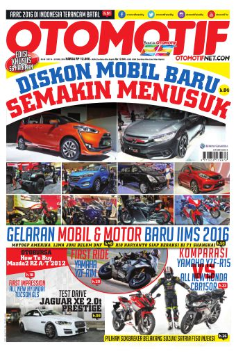 Tabloid Otomotif Edisi 49 Xxv 14 April 2016