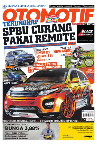 Tabloid OTOMOTIF - edisi 3/XXVI