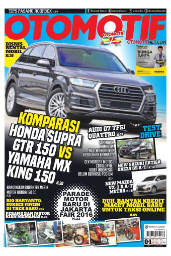 Tabloid OTOMOTIF - edisi 04/XXVI