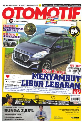 Tabloid OTOMOTIF - edisi 05/XXVI