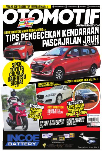 Tabloid OTOMOTIF - edisi 08/XXVI