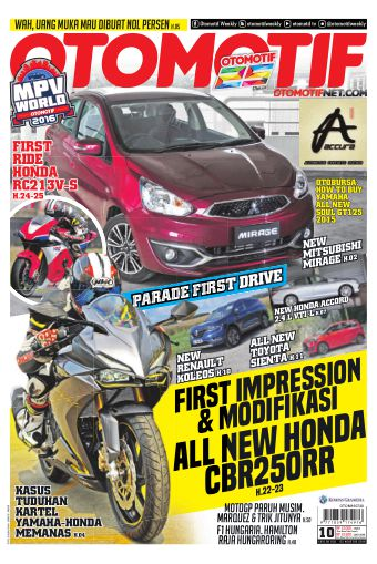 Tabloid OTOMOTIF - edisi 10/XXVI