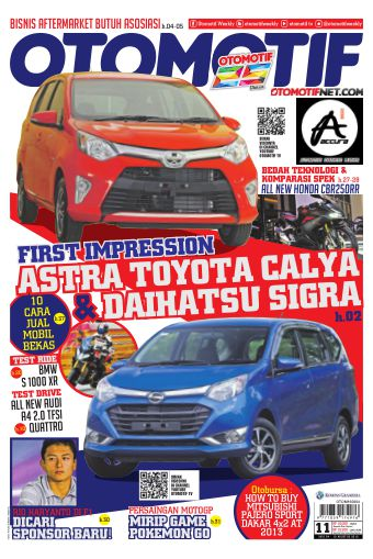 Tabloid OTOMOTIF - edisi 11/XXVI