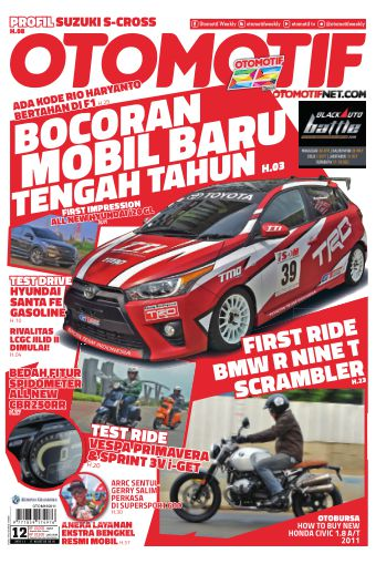 Tabloid OTOMOTIF - edisi 12/XXVI