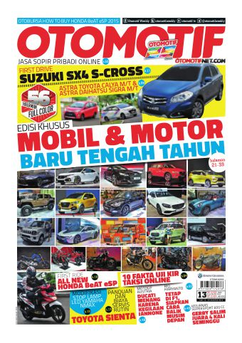 Tabloid OTOMOTIF - edisi 13/XXVI