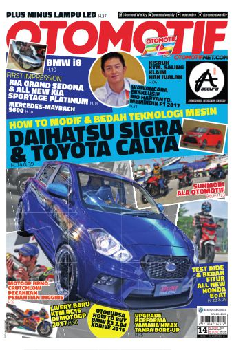 Tabloid OTOMOTIF - edisi 14/XXVI