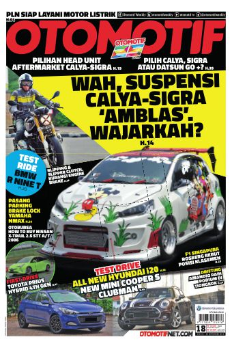 Tabloid OTOMOTIF - edisi 18/XXVI