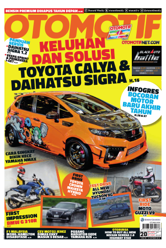 Tabloid OTOMOTIF - edisi 20/XXVI
