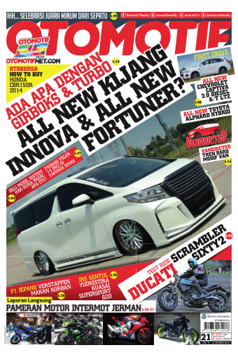 Tabloid OTOMOTIF - edisi 21/XXVI