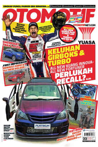 Tabloid OTOMOTIF - edisi 22/XXVI
