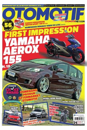 Tabloid OTOMOTIF - edisi 24/XXVI