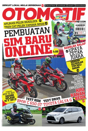 Tabloid OTOMOTIF - edisi 31/XXVI