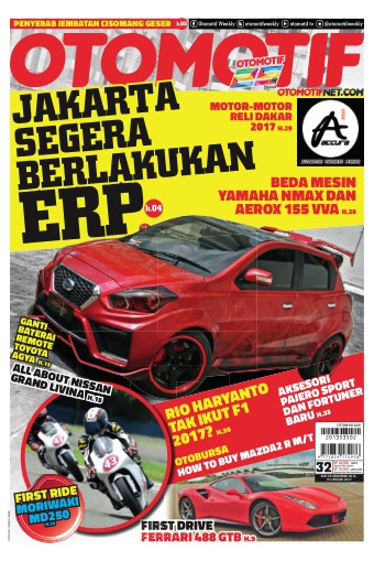 Tabloid OTOMOTIF - edisi 32/XXVI