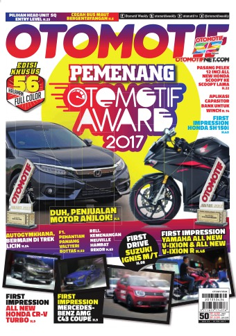 Tabloid OTOMOTIF - edisi 50/XXVII
