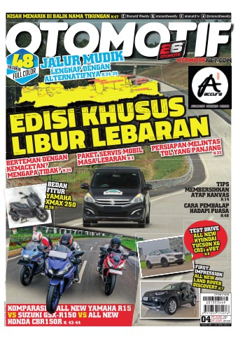Tabloid OTOMOTIF - edisi 55/XXVII