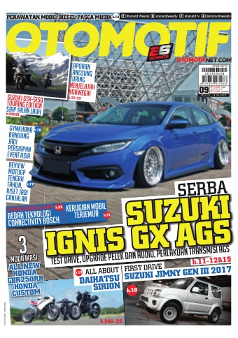 Tabloid OTOMOTIF - edisi 60/XXVII