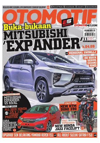 Tabloid OTOMOTIF - edisi 62/XXVII