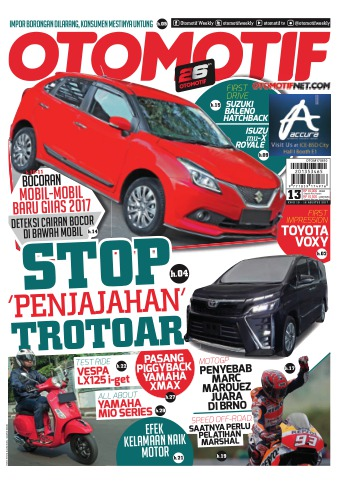 Tabloid OTOMOTIF - edisi 64/XXVII
