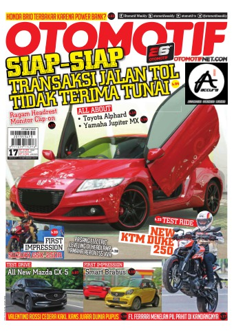 Tabloid OTOMOTIF - edisi 68/XXVII