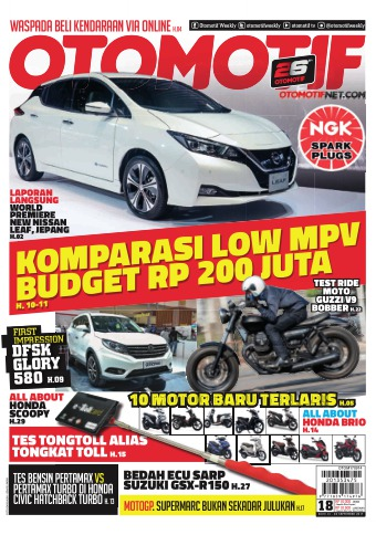 Tabloid OTOMOTIF - edisi 69/XXVII