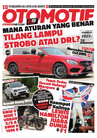 Tabloid OTOMOTIF - edisi 76/XXVII