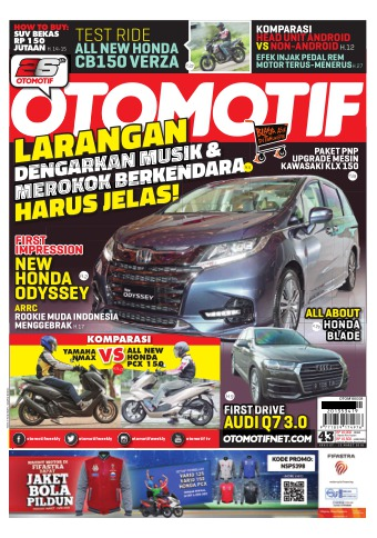 Tabloid OTOMOTIF - edisi 94/XXVII