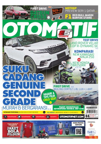 Tabloid OTOMOTIF - edisi 95/XXVII