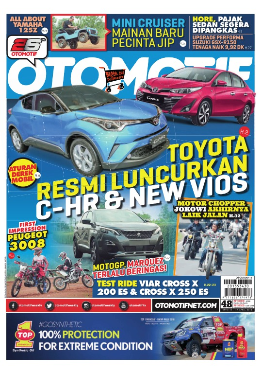 Tabloid OTOMOTIF - edisi 99/XXVII