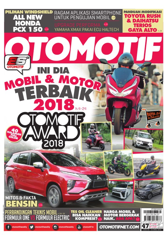 Tabloid OTOMOTIF - edisi 98/XXVII
