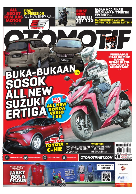 Tabloid OTOMOTIF - edisi 100/XXVII