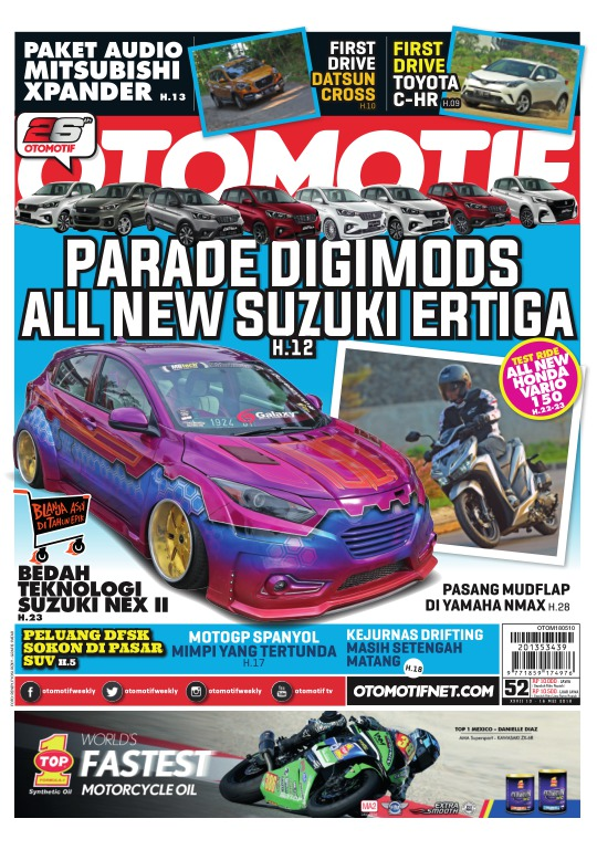 Tabloid OTOMOTIF - edisi 102/XXVII