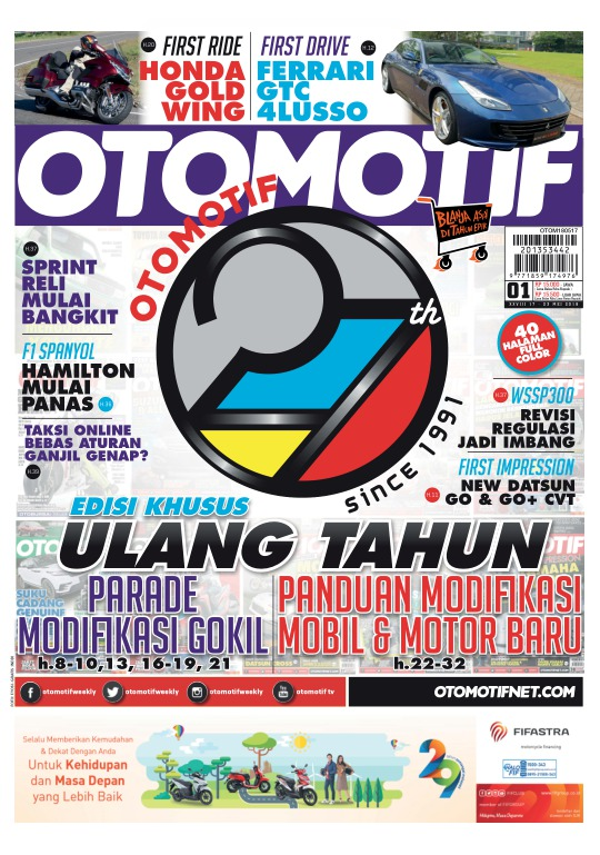 Tabloid OTOMOTIF - edisi 1/XXVIII