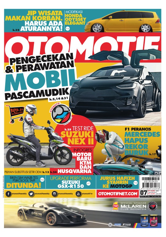 Tabloid OTOMOTIF - edisi 07/XXVIII