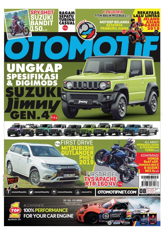 Tabloid OTOMOTIF - edisi 08/XXVIII