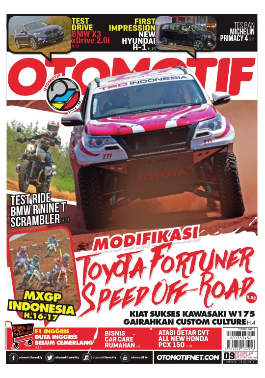 Tabloid OTOMOTIF - edisi 09/XXVIII
