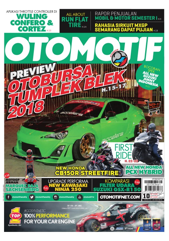 Tabloid OTOMOTIF - edisi 10/XXVIII