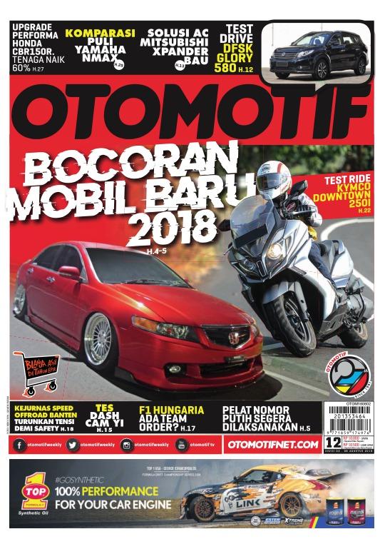 Tabloid OTOMOTIF - edisi 12/XXVIII