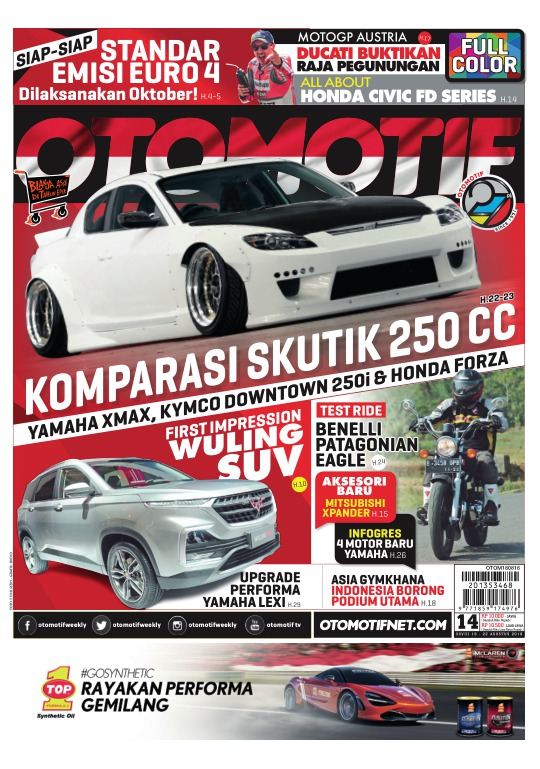 Tabloid OTOMOTIF - edisi 14/XXV